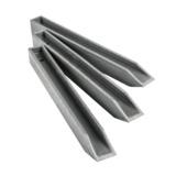 Ecopic H-profiel 38 cm per 10 stuks voor ecolat afboording