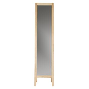 Miroir sur pied Liv  155cm bois