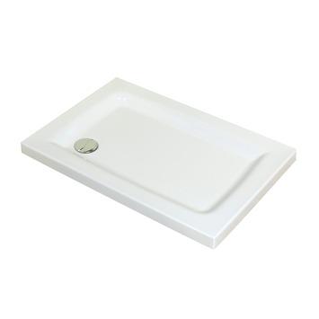 allibert receveur jacana 80x100 tablier 7cm bioplax blanc receveurs caniveaux de douche. Black Bedroom Furniture Sets. Home Design Ideas