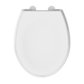 Abattant wc Allibert Lenti soft-close synthétique blanc