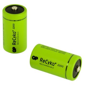 Pile rechargeable GP C NiMH 2200 mAh 2 pièces