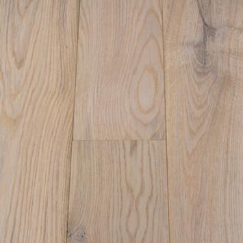 Échantillon parquet clic chêne  blanc huilé