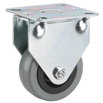 Roulette à chape avec plateau 50 mm 35 kg