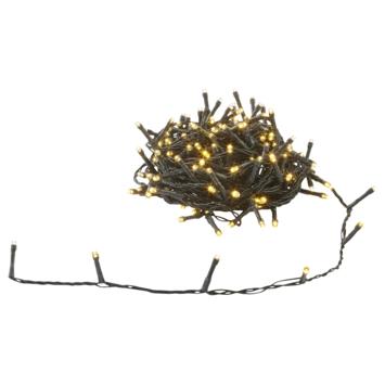 Guirlande de Noël 180 lampes LED blanc chaud