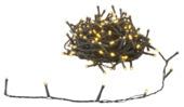 Kerstverlichting lichtsnoer 180 LEDlampjes warm wit