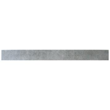 Plint Risvolto antraciet 7,2x60cm