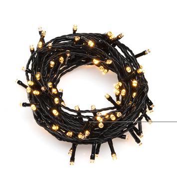 Kerstverlichting lichtnet 64 LEDlampjes 2x2m extra warm wit voor buiten