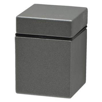 Console Duraline Clip Cube mini argenté mat