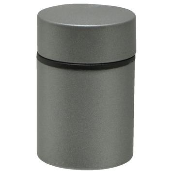 Duraline Clip Tube mini plankdrager mat zilver