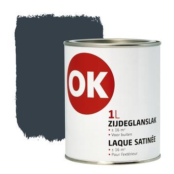 Laque extérieure satinée OK 1 L anthracite