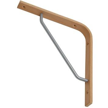 Console Duraline Triangel hêtre 23,5x22 cm