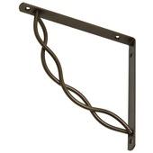 Duraline Swirl plankdrager brons 19,5x19,5 cm