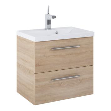 Meuble de salle de bains Alice Atlantic motif bois 60 cm