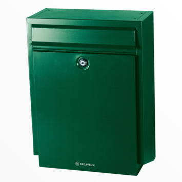 Boîte aux lettres Decayeux D100 vert
