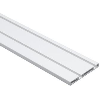 Essentials schuifdeurrail S10 260 cm kunststof aluminium