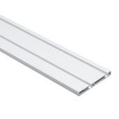 Rail pour porte coulissante Essentials S10 260 cm synthétique aluminium