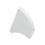 Embout pour poignée de porte Essentials blanc 2 pièces