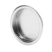 Essentials deurkom rond 40 mm chroom 2 stuks