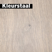 Kleurstaal GAMMA Elan Laminaat Blank Kalk Eiken 4V-Groef 8mm