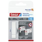 Double-face adhésif Tesa Powerstrips pour surfaces fragiles max. 1 kg blanc 6 pièces