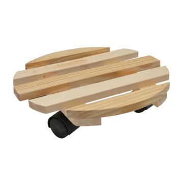 Support mobile pour plantes bois Handson  Ø 30 cm max. 60 kg