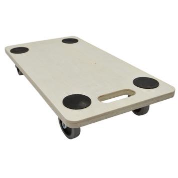 Support roulant pour meubles multiplex Handson roulettes souples 56x30 cm max. 200 kg