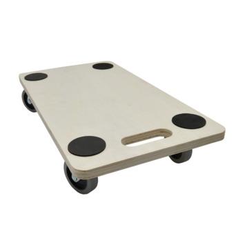 Support roulant pour meubles MDF Handson roulettes souples 56x30 cm max. 300 kg