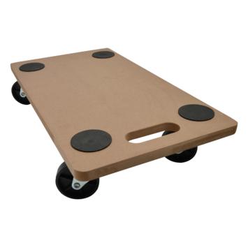 Support roulant pour meubles MDF Handson roulettes dures 56x30 cm max. 200 kg