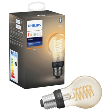 Ampoule LED poire Philips Hue filament E27 7 W blanc dimmable