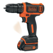 Perceuse-visseuse 10,8 V Li-ion Black+Decker BDCDD12