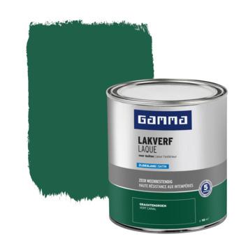 GAMMA buitenlak zijdeglans 750 ml gracht groen