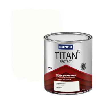 GAMMA Titan buitenlak zijdeglans 750 ml gebroken wit