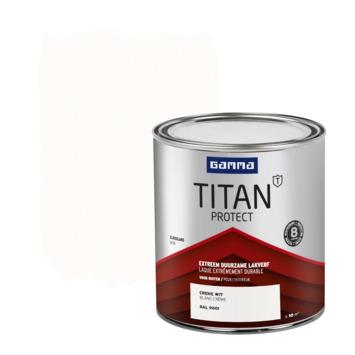 GAMMA Titan buitenlak zijdeglans 750 ml crèmewit