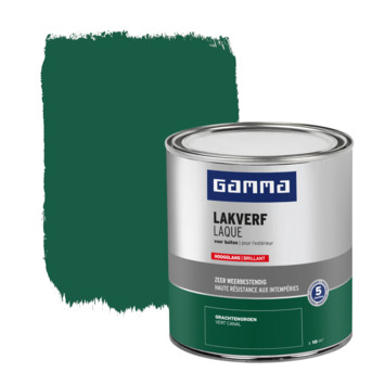 GAMMA buitenlak hoogglans 750 ml gracht groen