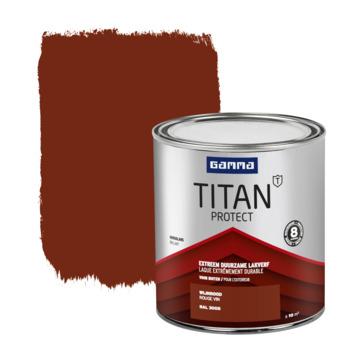 GAMMA Titan buitenlak hoogglans 750 ml wijnrood