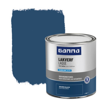 GAMMA buitenlak zijdeglans 750 ml geldersblauw