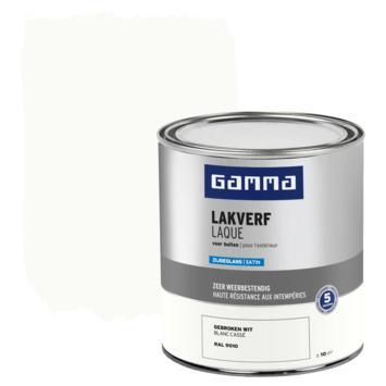 GAMMA buitenlak zijdeglans 750 ml gebroken wit