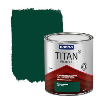 GAMMA Titan buitenlak zijdeglans 750 ml gracht groen