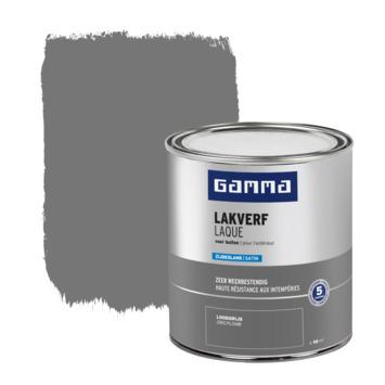 GAMMA buitenlak zijdeglans 750 ml loodgrijs