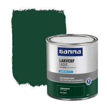 Laque extérieure satinée GAMMA 750 ml vert sapin