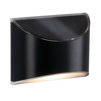 Lampe solaire pour escalier / marches Paulmann Elliot 0.05 W anthracite
