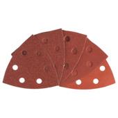 Jeu de papier abrasif delta Bosch 93 mm 10 pièces