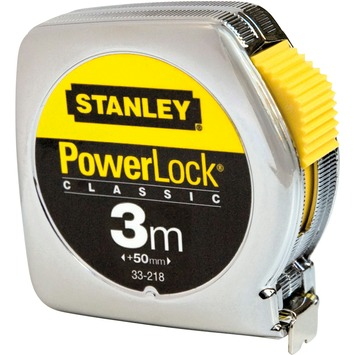 Stanley rolbandmaat powerlock 0-33-238 3 m
