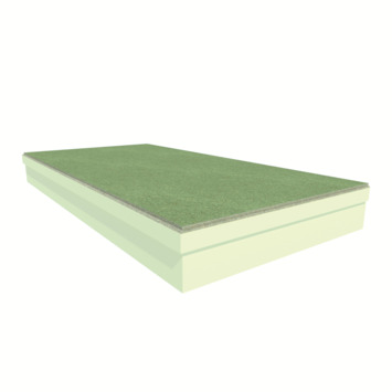 Utherm4U PIR + spaanplaat, dikte 108 mm (100+8 mm), afm. 120x60 cm (0,72 m²), R-waarde = 4,5 2stuks