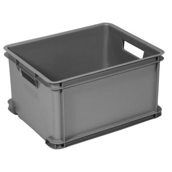 Opbergbox Unibox Cuver L zilvergrijs