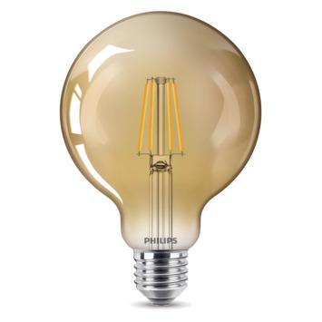 Philips LED globe E27 35W filament goud niet dimbaar