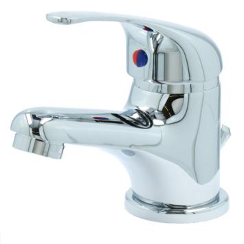 Mitigeur de lavabo avec vidange automatique OK chromé