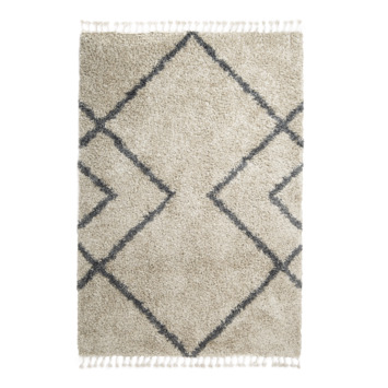 Tapis Harmony gris sable 30 mm 160x230 cm