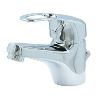 Mitigeur de lavabo avec vidange automatique Ralph Handson chromé