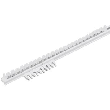 Rail complet 'Plus' 200 cm blanc